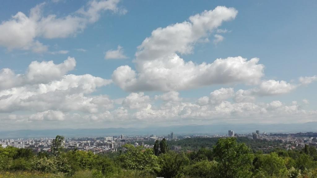 Botanische tuinen Sofia bergen