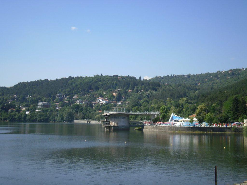 Lake Pancharevo Sofia Bulgarije