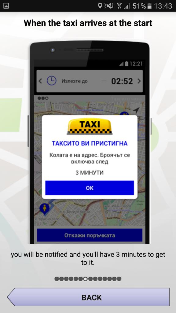 Taxi onderweg OK Taxi